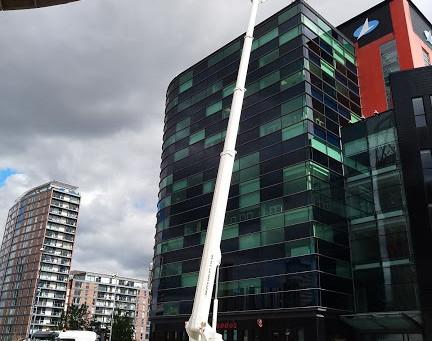 Lowry Centre - Salford - Kill Grid Install - 30.8.20