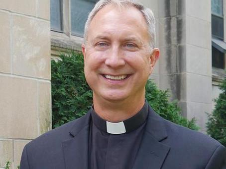 A Warm Welcome Fr. Jim Hurlbert