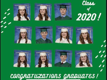 Congratulations Shamrocks, The Class of 2020