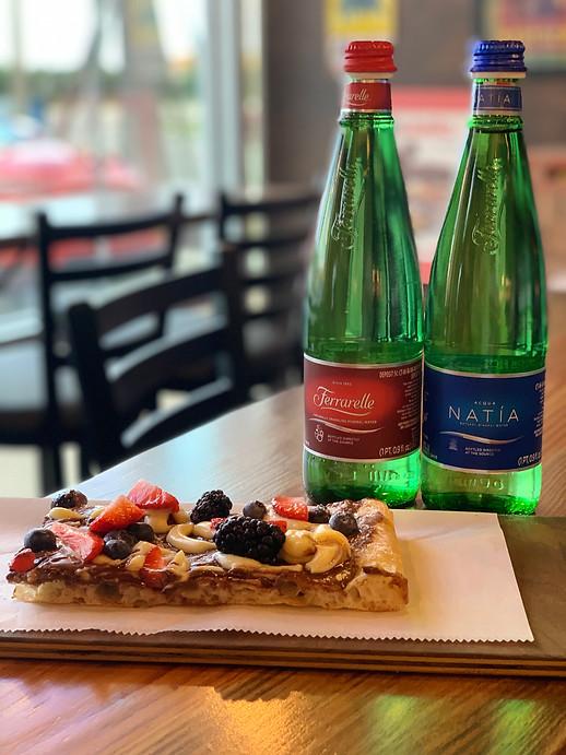 Pizza Dessert & Ferrarelle