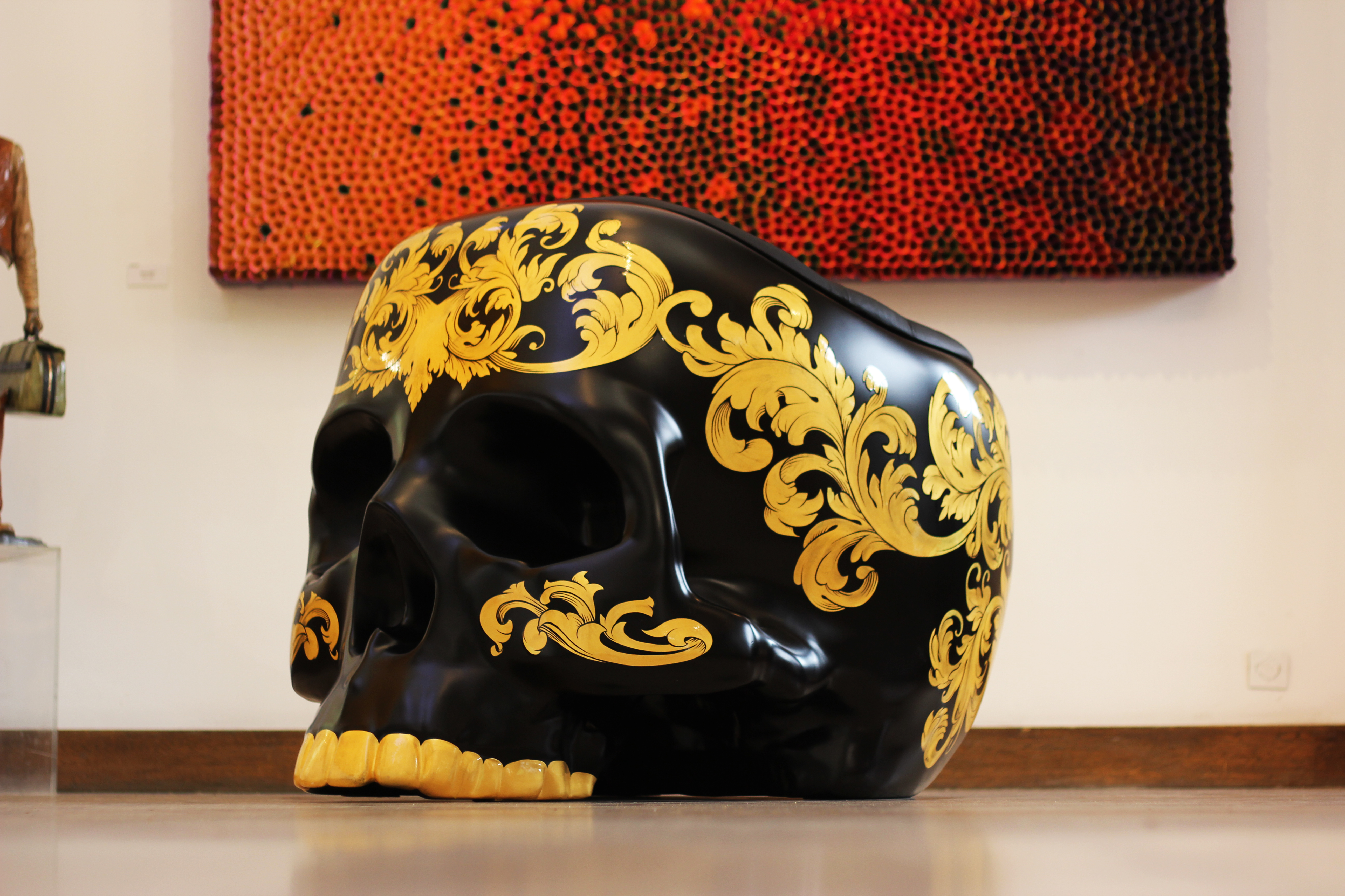Renaissance Skull Armchair