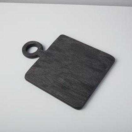Black Mango wood mini square board