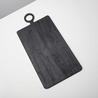 Black Mango wood Extra Large Rectangular