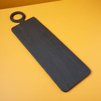 Black Mango wood long rectangular board