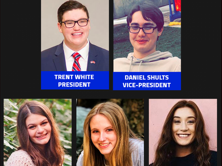 Student Council Announces Executive Board for 2020-21 School Year