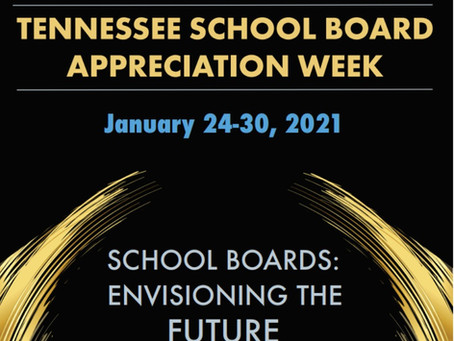 Jan. 24-31 Is School Board Appreciation Week