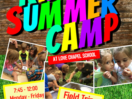 Love Chapel Announces 'Read to Be Ready' Summer Camp for June 3-28