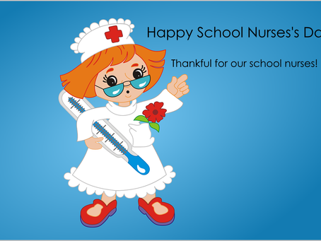 Today is School Nurses' Day
