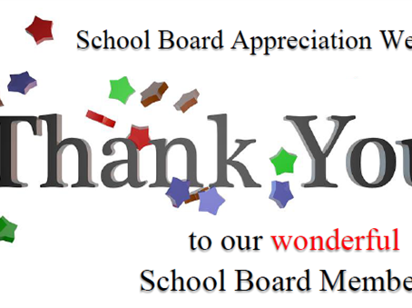 Thank a School Board Member This Week