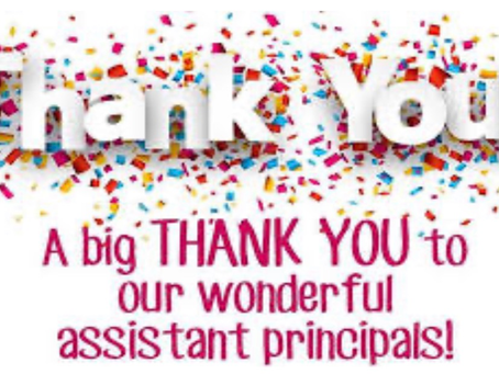 Happy National Assistant Principals Week!
