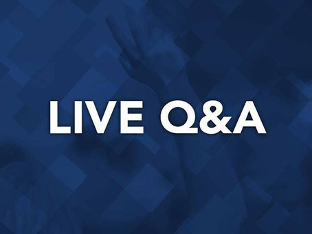 WATCH: Live Q&A Events on 8/4