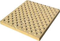 Тактильная плитка с конусообразными рифами