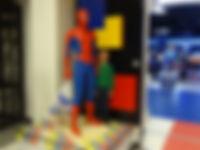 Скульптура Человек-Паук (Spiderman) выставка