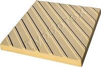 Тактильная плитка с диагональными рифами