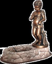 Скульптура - фонтан Писающий мальчик
