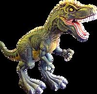 Скульптура Динозавр (композит)