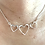 Thumbnail: Sterling Silver Triple Heart Pendant