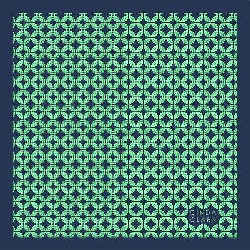 FanFan (Mint) -Pocket Square