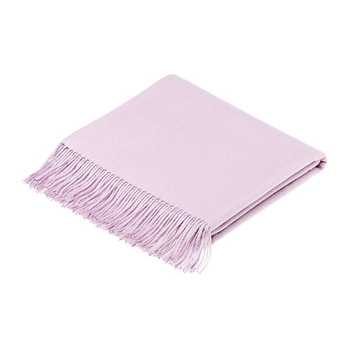 Bronte 100% Alpaca Throw (Dusky Pink)