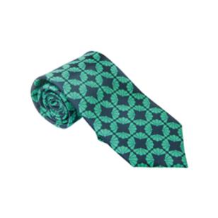 FanFan (Mint) - Silk Tie