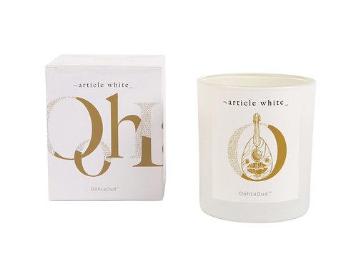 Article White Ooh La Oud 2 Candle 210g