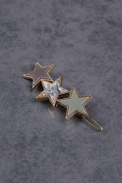Hair Slide with Stars