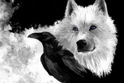 Ависа и Ворон