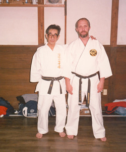 Sensei Paul Mitchell & Sensei Chojiro Tani