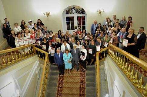 Международный Пушкинский конкурс чествует учителей-лауреатов.