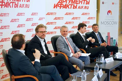 It's time for Moscow! VII Международный форум представителей зарубежных СМИ в Москве.