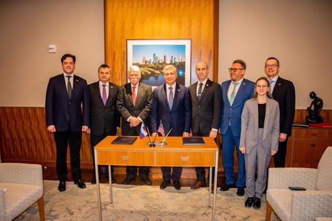 Москва и Хьюстон подписали программу сотрудничества