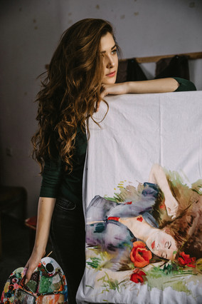 "Irina Madan ""My work is influenced by my inner world"""