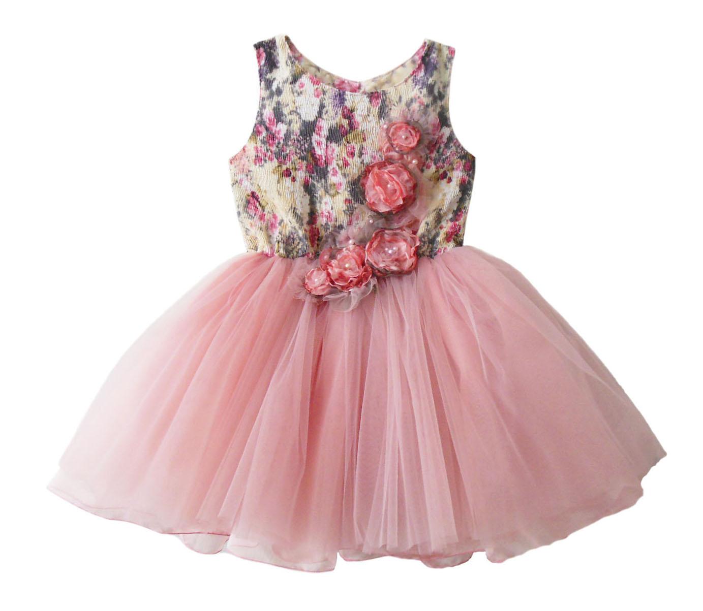 платье детское Розы