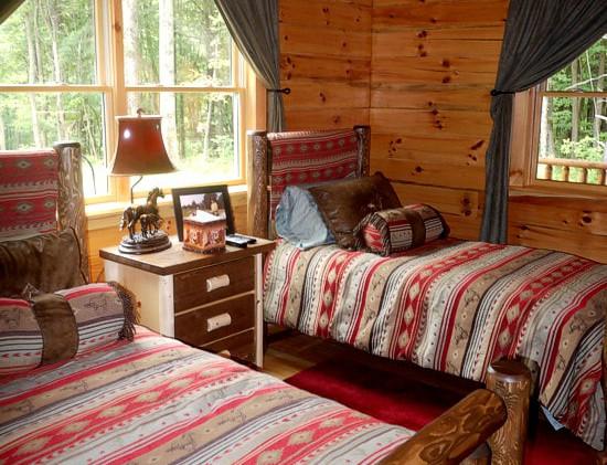 Twin beds on main floor
