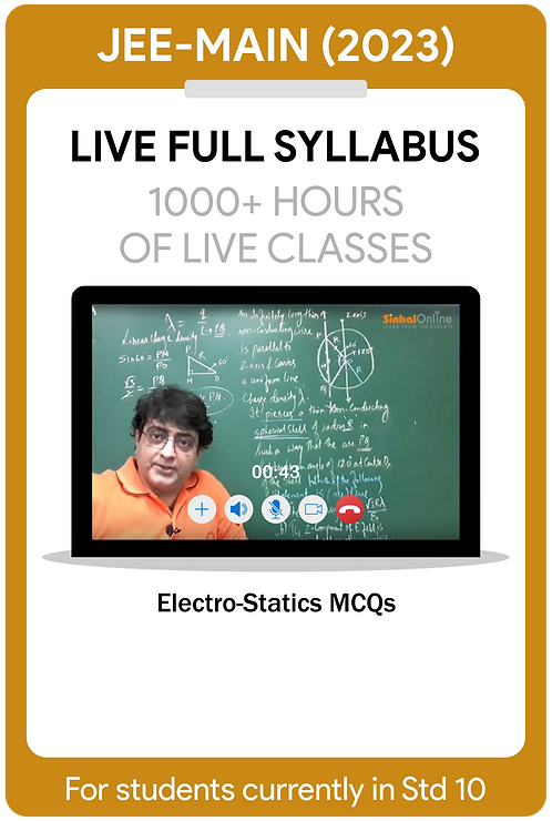 JEE-Main 2023 Live Full Syllabus Course
