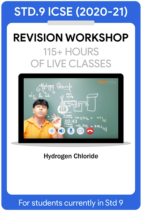 Std 9 ICSE 2021 Live Revision Workshop