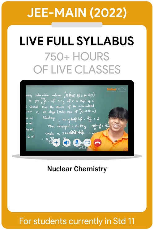 JEE-Main 2022 Live Full Syllabus Course
