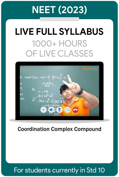 NEET 2023 Live Full Syllabus Course