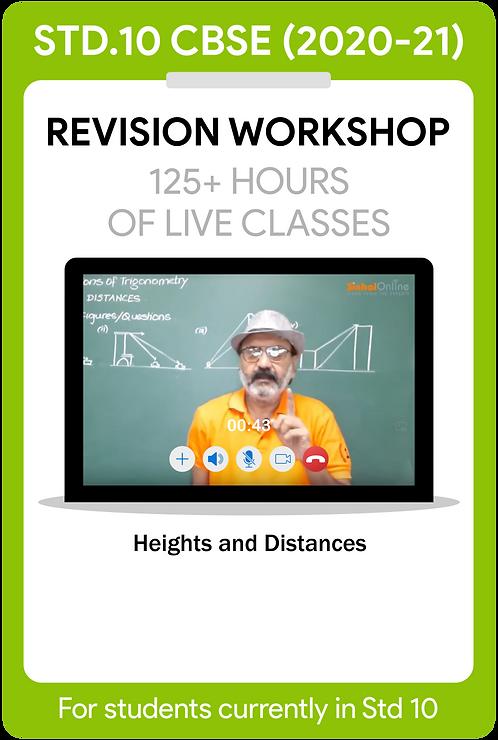 Std 10 CBSE 2021 Live Revision Workshop