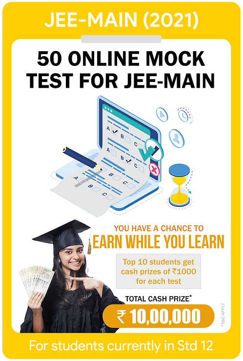 50 Online Mock Papers for JEE-Main