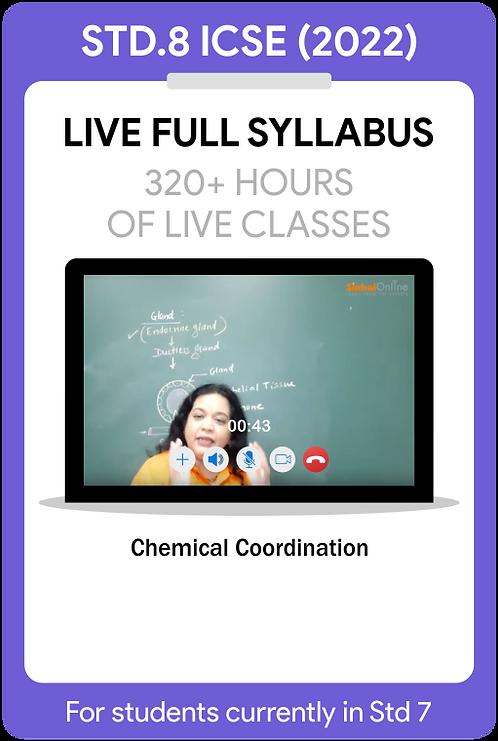 Std 8 ICSE 2022 Live Full Syllabus Course