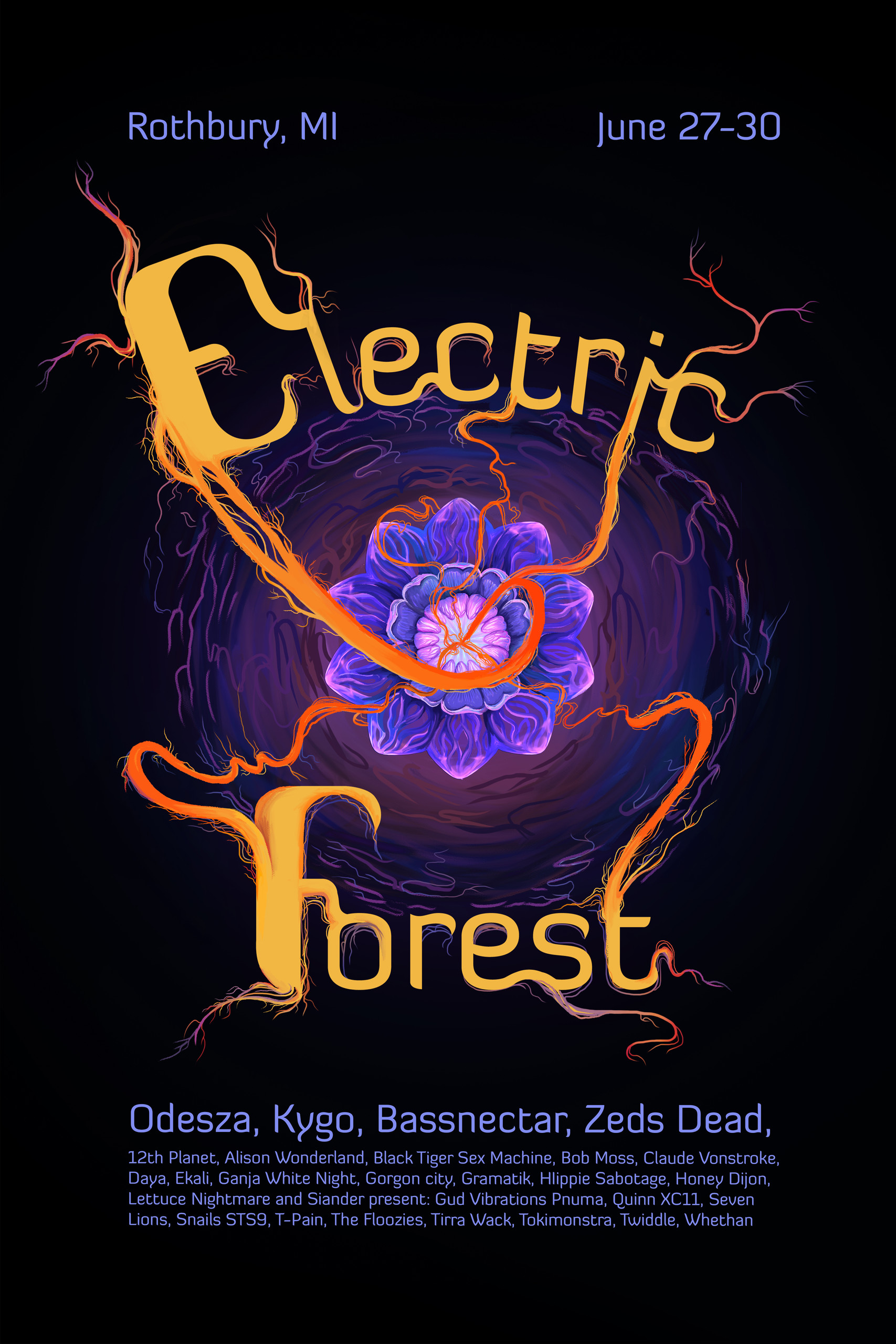 Electric Forest Poster