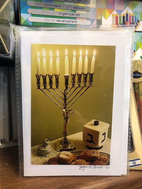 copy of Locally Made Chanukah Cards