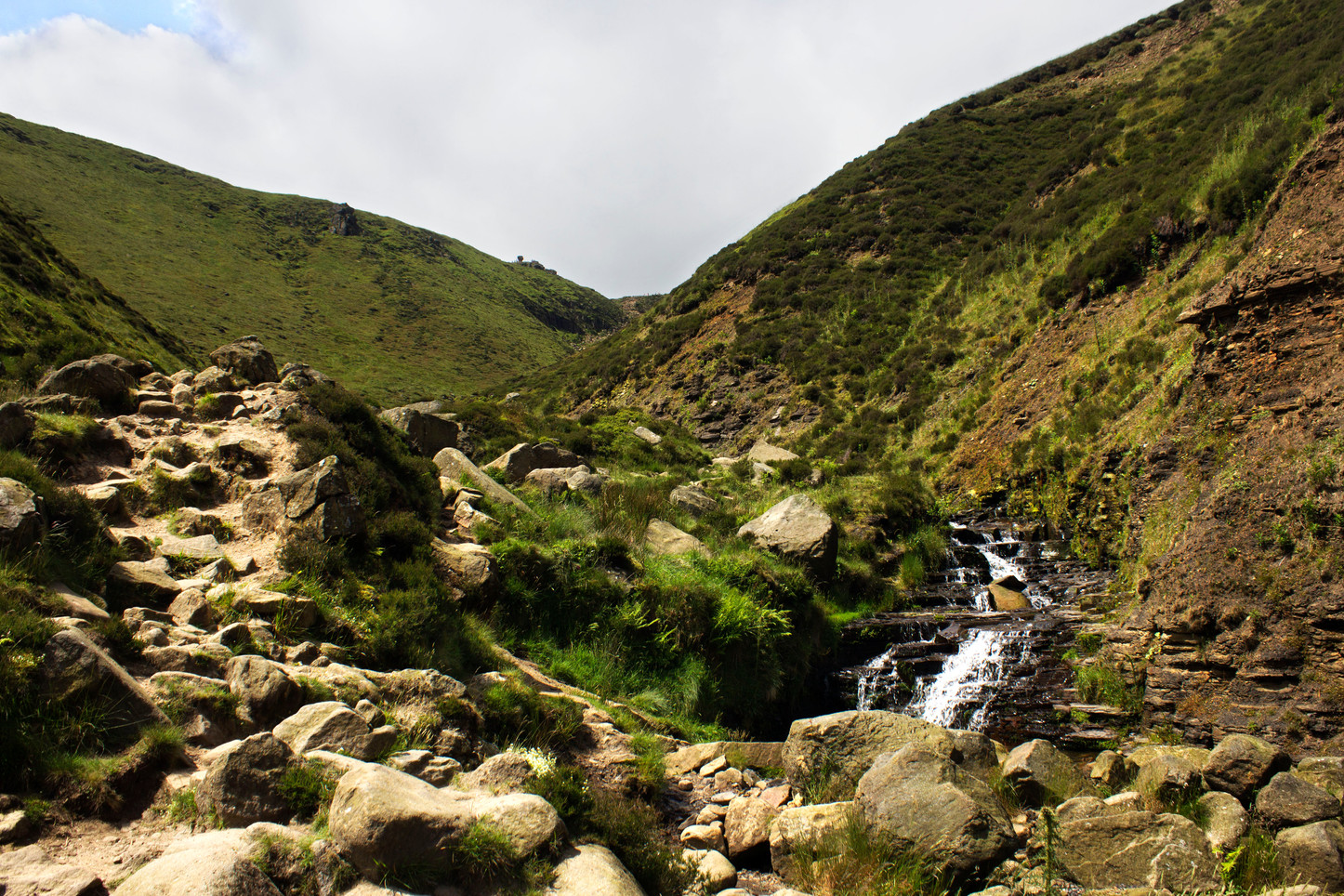 Kinder Scout Valley Trail
