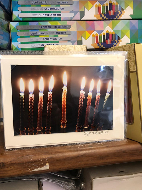 Locally Made Chanukah Cards