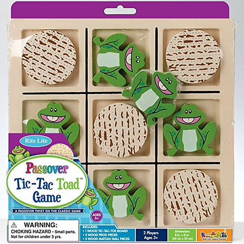 Tic Tac Toad Passover Game