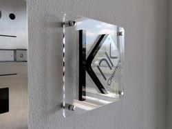 Πινακίδα plexiglass