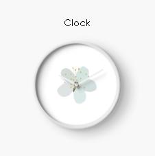 White-Blossom-Clock