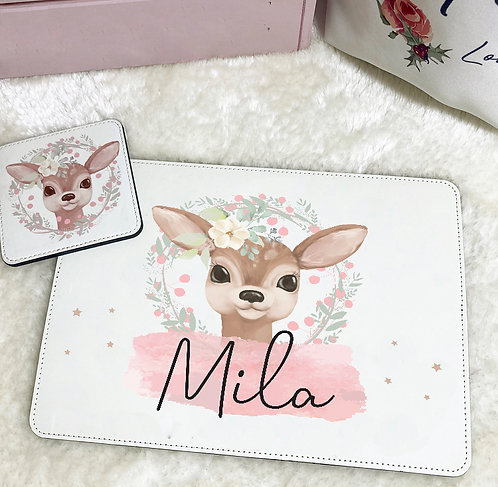 Personalised Placemat & Coaster