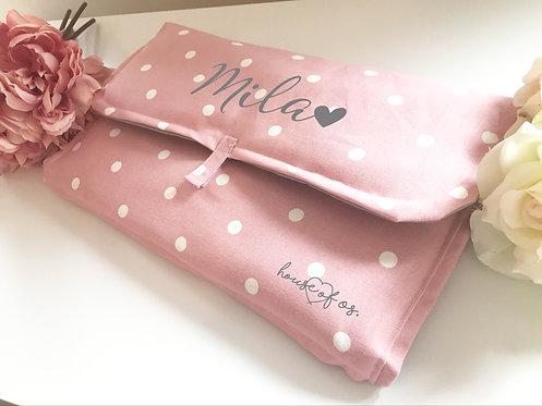 Handmade Personalised Padded Changing Mat